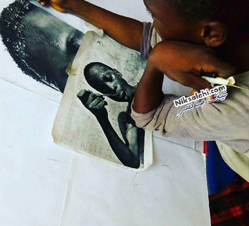 نقاشی های فوق واقعی پسر نوجوان