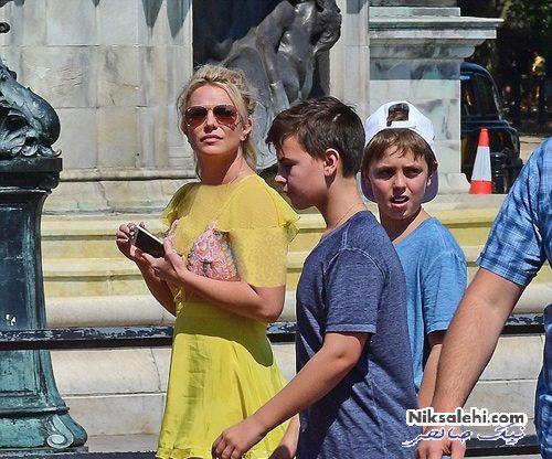 بریتنی اسپیرز و پسرانش