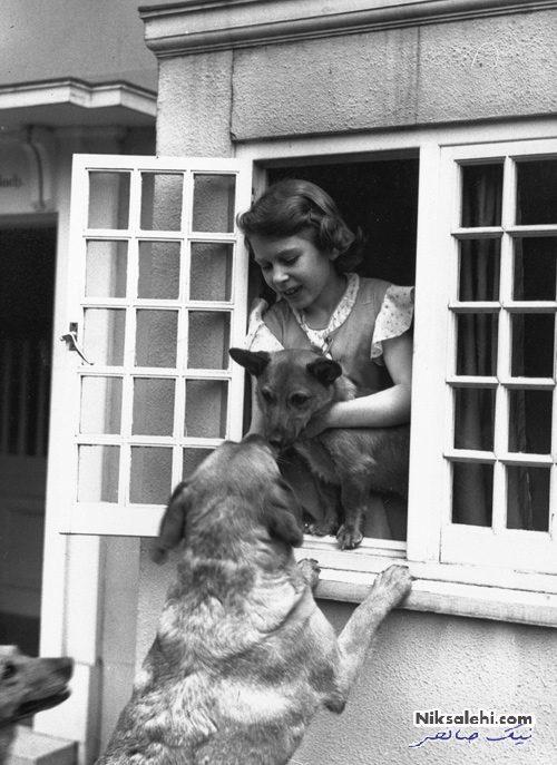 ملکه الیزابت و خانه عروسکی اش