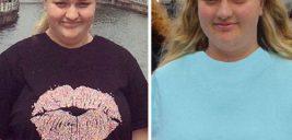 عکس قبل و بعد کاهش وزن دیدنی دختر جوان استرالیایی