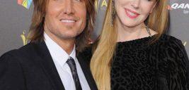 نیکول کیدمن و همسرش کیث اربن در فرش قرمز جوایز موسیقی استرالیا