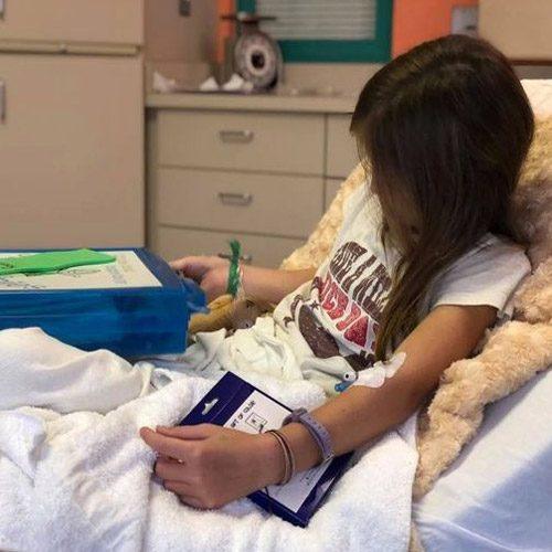 شفای عجیب و معجزه آسای تومور مغزی دختر ۱۱ ساله