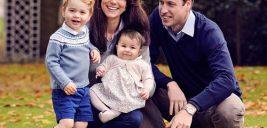 سه فرزند کیت میدلتون و پرنس ویلیام در کارت کریسمس ۲۰۱۹ این خانواده