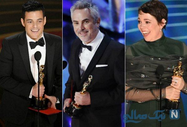 برندگان بزرگ در مراسم اهدای جوایز اسکار ۲۰۱۹