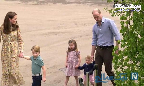 کیت میدلتون و فرزندانش