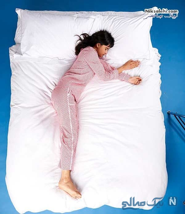 انواع مدل خوابیدن
