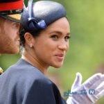 مگان عروس ملکه پس از مرخصی زایمان در کنار کیت میدلتون