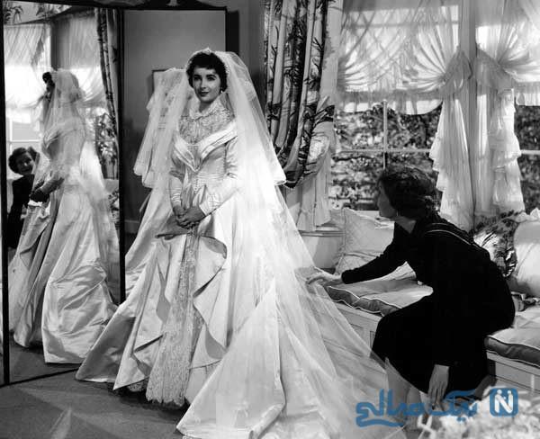 لباس عروس فیلم ها بر تن ستاره های معروف هالیوودی