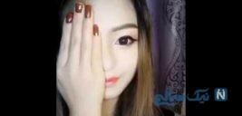 تغییر چهره عجیب زن میانسال به یک دختر جوان و زیبا با فیس فیلتر