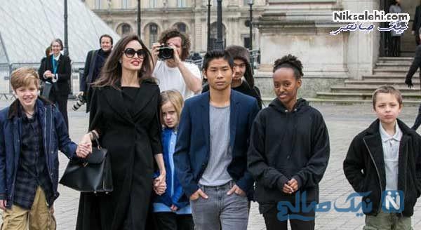 زندگی آنجلینا جولی بعد از طلاق