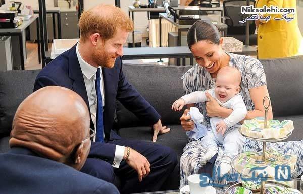 فرزند مگان مارکل و شاهزاده هری