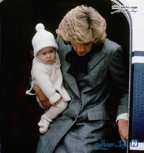 مگان مارکل و فرزندش