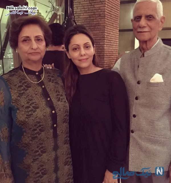 گوری همسرشاهرخ خان