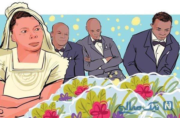 ازدواج همزمان یک زن با چند مرد در یکی از روستاهای اوگاندا