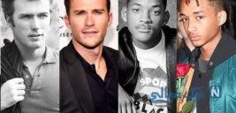 پدر پسر های معروف هالیوودی و عکس های آنها در سن مشابه