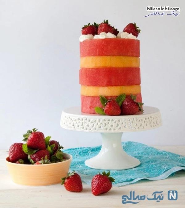 دسر با هندوانه برای شب یلدا