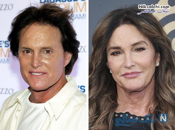 تغییر چهره افراد مشهور
