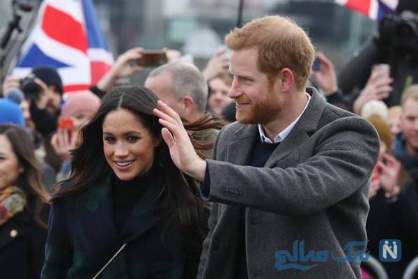 مگان و شاهزاده هری و وقتی کارد به استخوان ملکه انگلیس می رسانند