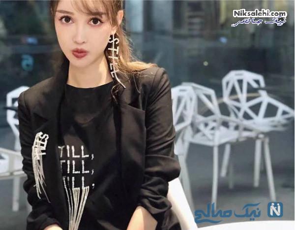 دختر چینی با چندین عمل زیبایی