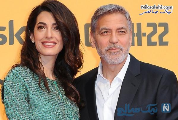 جورج کلونی و امل علم الدین