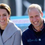 شارلوت دختر ویلیام شاهزاده انگلستان و کیت میدلتون در تولد ۵ سالگی