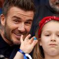 دیوید بکهام و دخترش و عکس بسیار زیبای پدر و دختری آنها