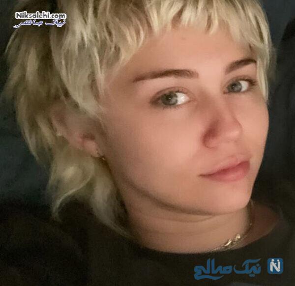 مدل موی جدید مایلی سایرس