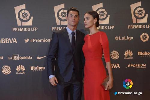 مراسم انتخاب بهترین های لالیگا اسپانیا با حضور بازیکنان و همسرانشان + تصاویر