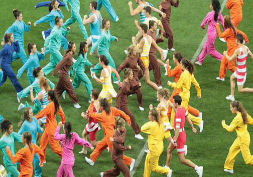 افتتاحیه باشکوه جام ملتهای آسیا + تصاویر