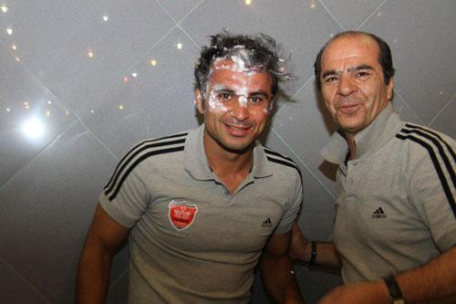 جشن تولد هادی نوروزی، بازیکن پرسپولیس در هتل سرعین + تصاویر