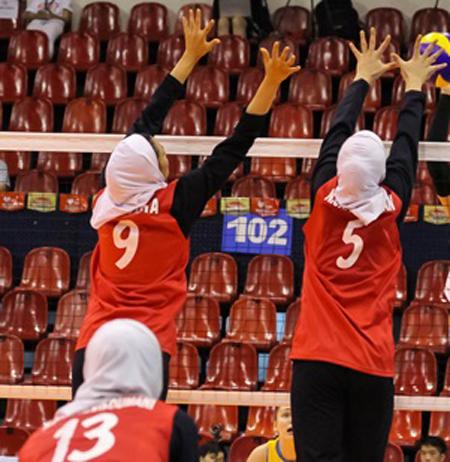 دختران والیبال ایران چطور قهرمان آسیا می شوند؟ + تصاویر