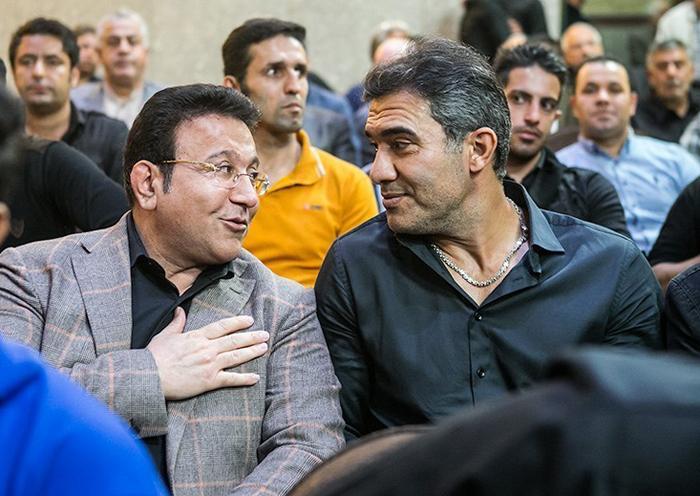 مجلس ترحیم خاص و بی نظیر هادی نوروزی با حضور چهره های مشهور + تصاویر