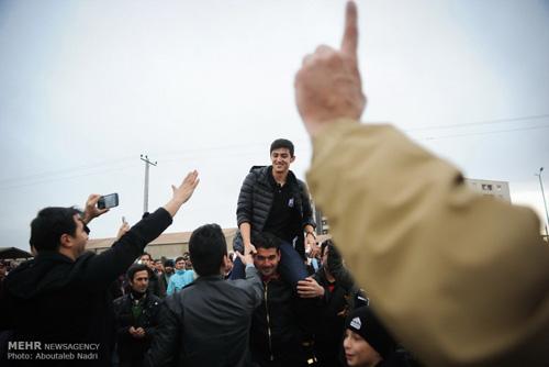 استقبال بی نظیر و شگفت انگیز از سردار آزمون در زادگاهش گلستان + تصاویر