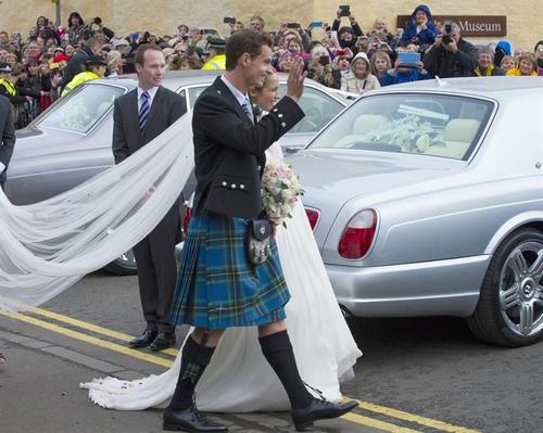 مراسم ازدواج ستاره تنیس جهان + عکس