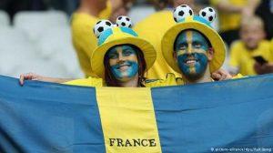 تصاویر جالب از زوجهای عاشق فوتبال در یورو ۲۰۱۶