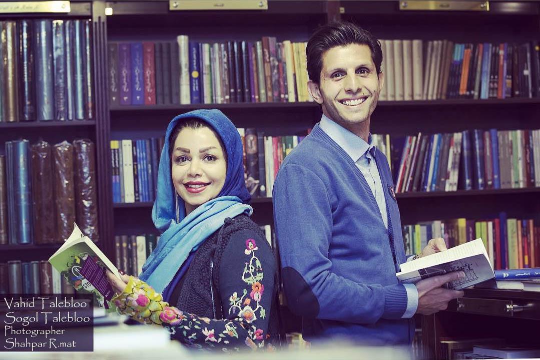 سرگرمی مثبت دروازه بان استقلال و همسرش در اوقات فراغت + عکس