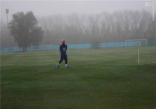 مسی به تیم ملی آرژانتین بازگشت + عکس