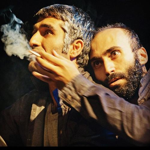 هافبک پرسپولیسی در حال سیگار کشیدن ؟! + عکس