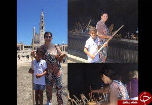 ماجرای اظهارنظر مادر رونالدو درباره حضرت فاطمه (س) + تصاویر