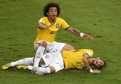 لحظات فراموش نشدنی جام جهانی ۲۰۱۴ + تصاویر