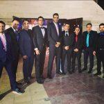 ستاره ملی پوش بسکتبال حامد حدادی در عروسی خواهرش + عکس