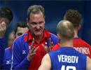 در آستانه بازی با ایران سرمربی تیم ملی والیبال روسیه استعفا داد!