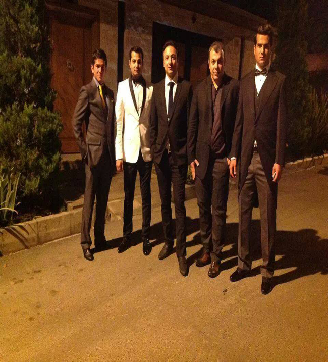 انتشار دو عکس خصوصی از مسعود شجاعی در صفحه تقلبی فیس بوکش