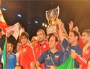 تیم ملی کشتی آزاد قهرمان جام جهانی در آمریکا شد