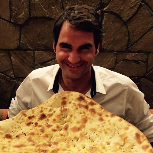 ستاره مشهور تنیس جهان به دنبال نان ایرانی + عکس