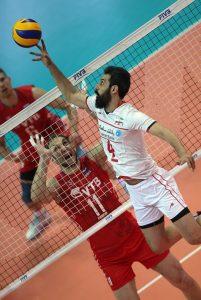 عکس های جالب دیدار تیمهای ملی والیبال ایران و روسیه در لیگ جهانی