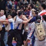 درگیری فیزیکی ستاره ایرانی در لیگ چین + تصاویر