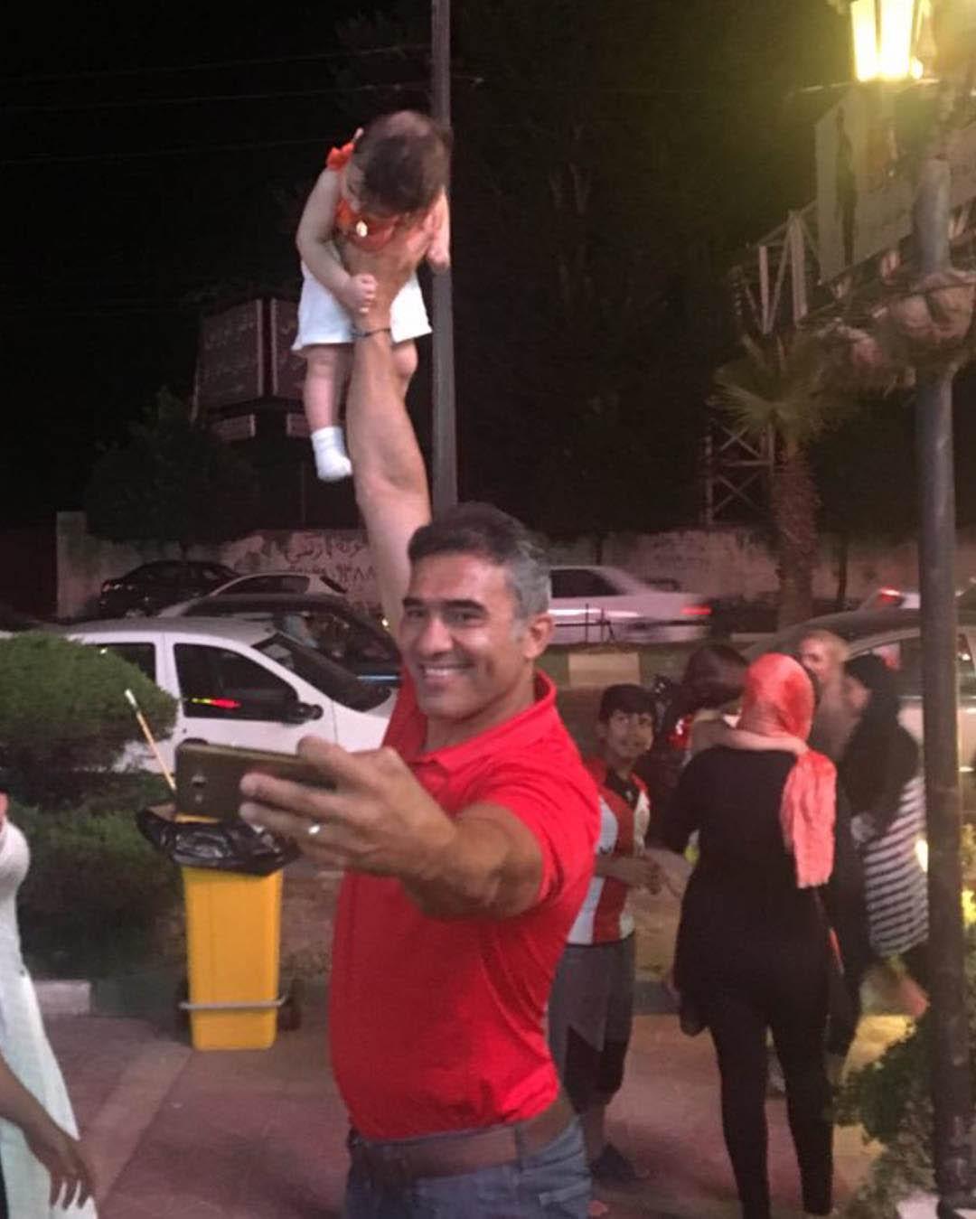 سلفی عجیب احمدرضا عابدزاده که همه را انگشت به دهان کرد + عکس