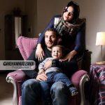 مدافع خارجی استقلال در کنار همسر و فرزندش + عکس
