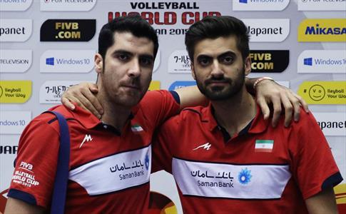 حواشی پیش از بازی والیبال ایران و تونس + تصاویر